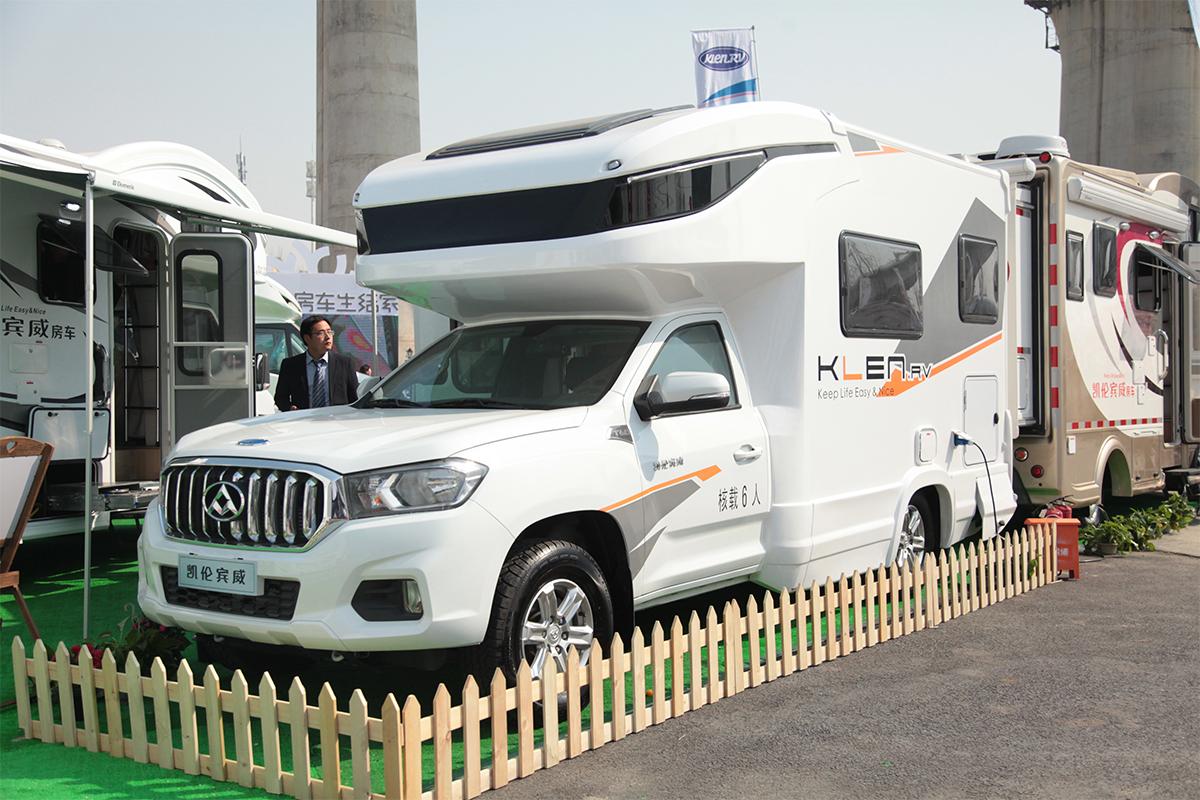 16.8万起售 凯伦宾威4款全新房车于北京房车展发布