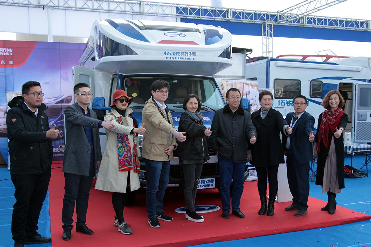 展会价56.8万  拓锐斯特TIC-621(欧霸版)北京房车展正式上市