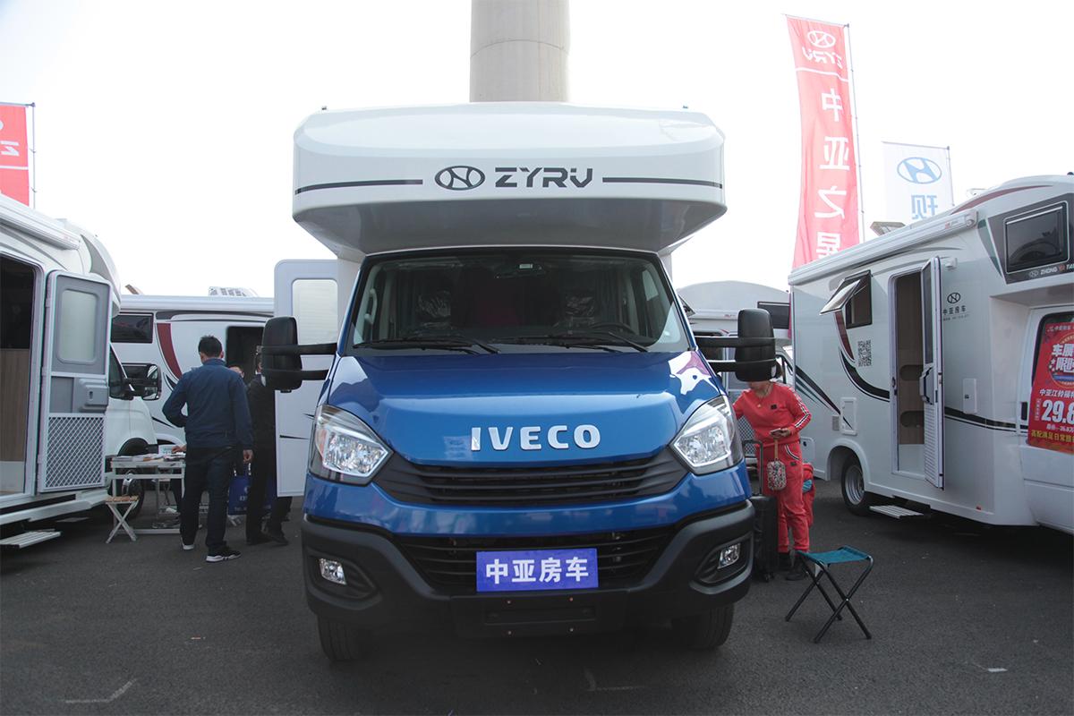 29.6万元起售 中亚3款全新房车于北京房车展发布