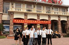 瑞典多美达集团考察北京房车博览中心