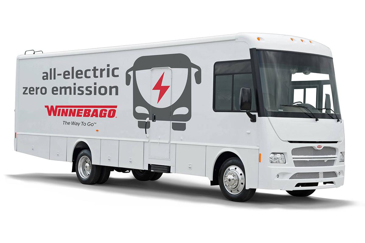 Winnebago推出纯电动房车 续航最长为200公里