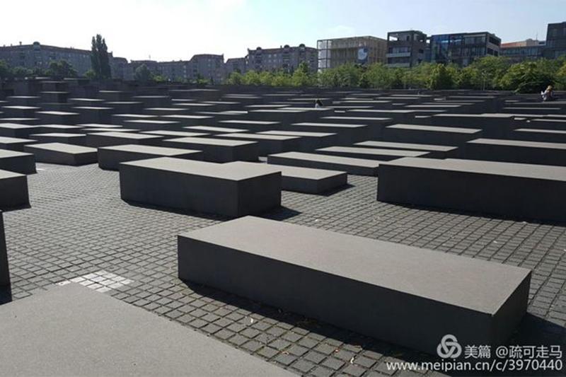 柏林犹太人纪念碑让德国甩了日本几条街 疏可走马欧洲行(三十四)