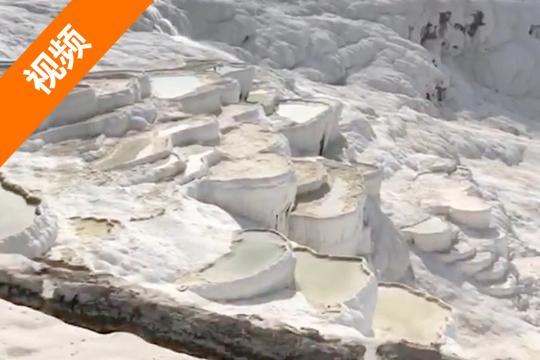 参观地球夫妇的2018亚欧之旅:土耳其棉花堡(第53天)