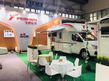 飞神房车参展北京国际房车展,高逼格展位亮了