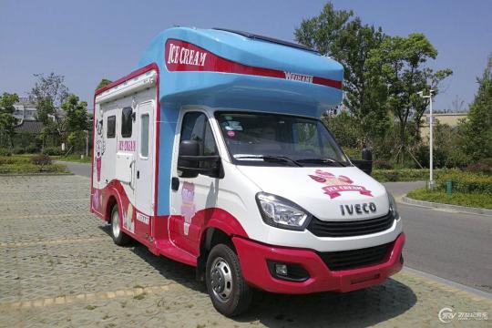 依维柯欧胜冰淇淋房车