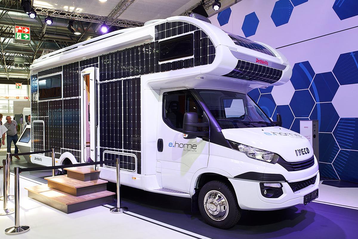 RENOGY如果新能源亮相2018欧洲国际房车展