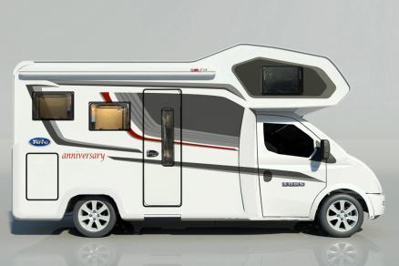 售35.8万元 亚特6周年纪念版房车将于北京房车露营展首发