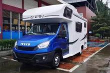售价46.88万 中亚之星8AT自动挡车型即将亮相北京房车露营展