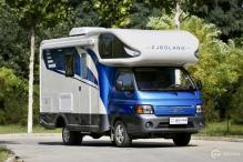 售价25.58万 中金博朗T90房车于北京房车露营展正式发布