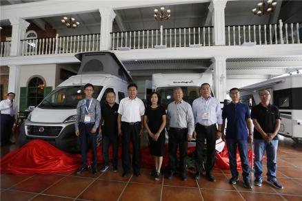 86万起售 埃文海姆-朗宸两款进口房车于北京房车露营展正式发布