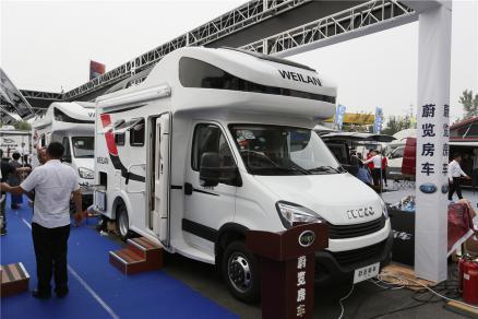售价49.8万 蔚览新款房车于北京房车露营展首发