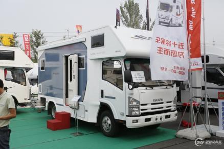 售价64.8万 庆铃五十铃房车亮相北京房车露营展