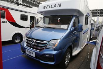 售价42.8万 蔚览大通房车于北京房车露营展正式发布