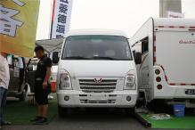 售价21.8万 七狼五菱德派旗舰版房车在北京房车露营展首发