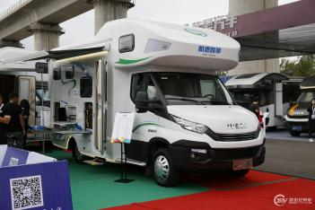 售价55.8万起 隆翠两款新车于北京房车露营展首发