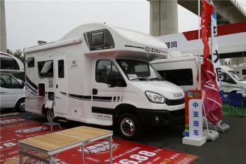 售价42.8万 中亚依维柯8AT房车于北京房车露营展首发
