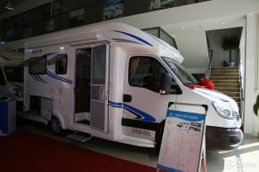 售价49.8万 金冠格林卡诺在北京房车露营展上首发