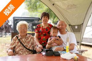 真的太幸福了:60岁天津大哥带着87岁母亲过着边开房车边钓鱼的生活