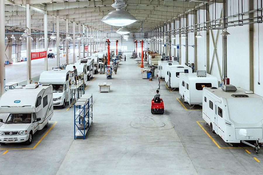 21RV续东看车团报名:10月13日我们一起走进诺优房车工厂