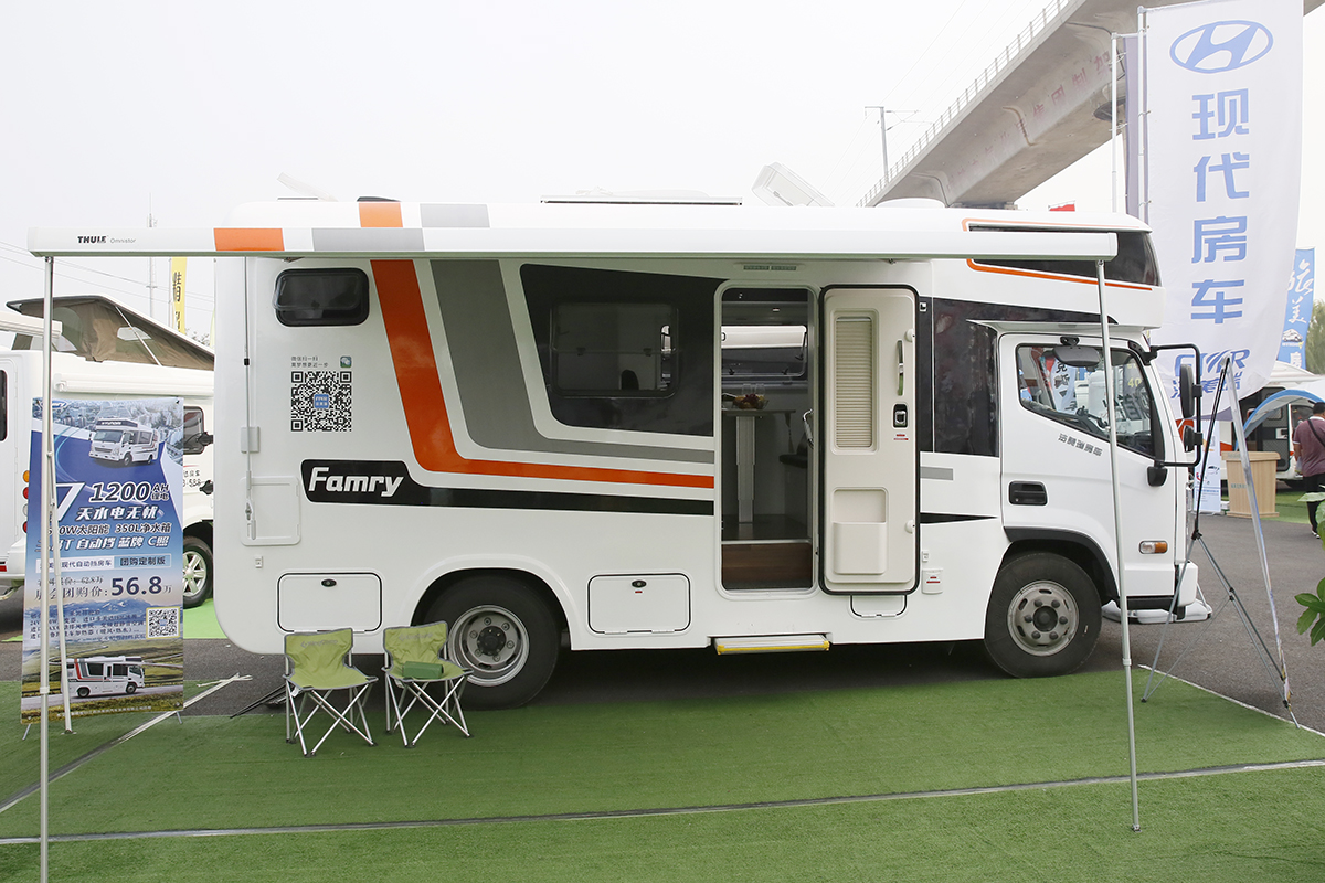 售56.8万 法美瑞发布首款现代轻卡自行式房车