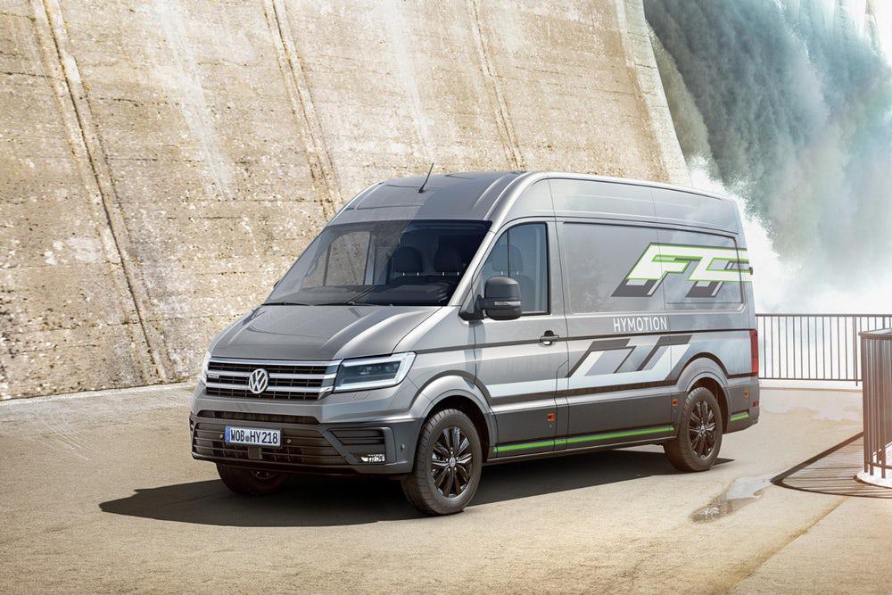 奔驰刚推出了斯宾特氢燃料MPV 大众这款氢燃料电池MPV就来了