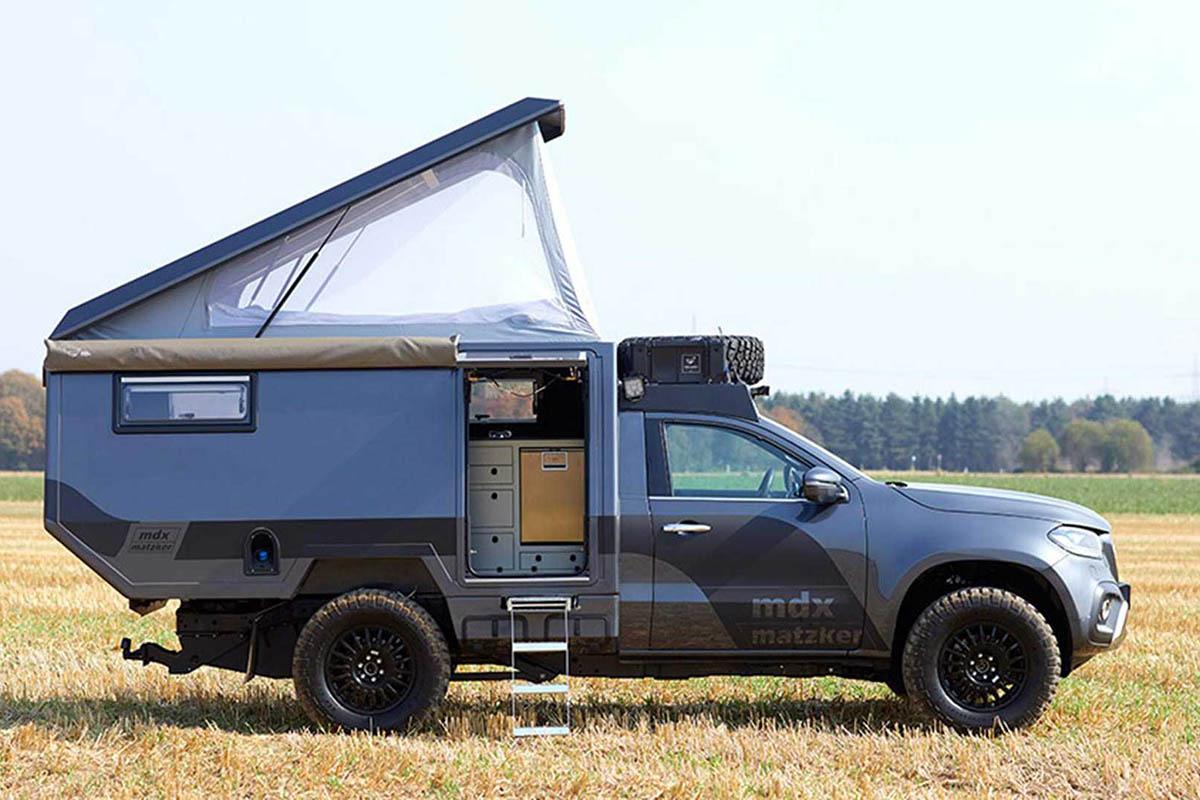 堪比露营车中的路虎 又一台奔驰越野露营车诞生了