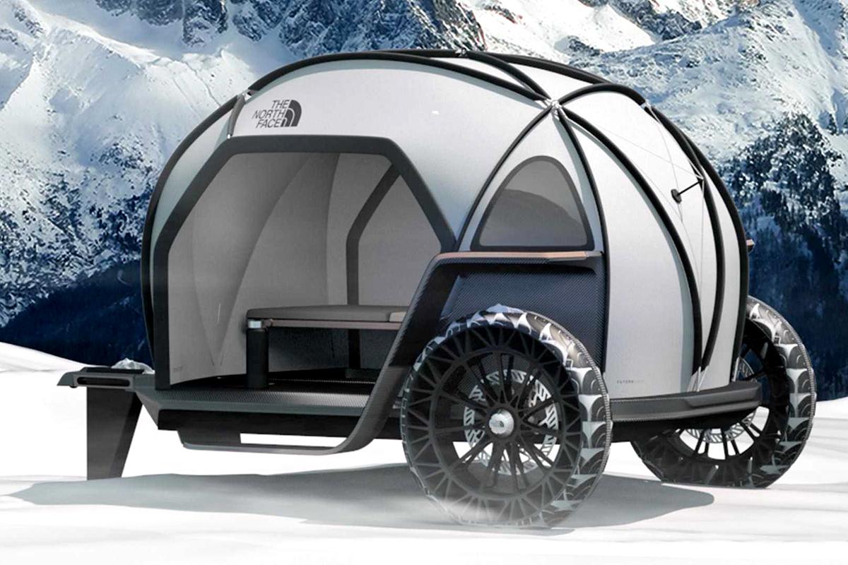 最不务正业的跨界!宝马设计师为North Face设计了一款露营车