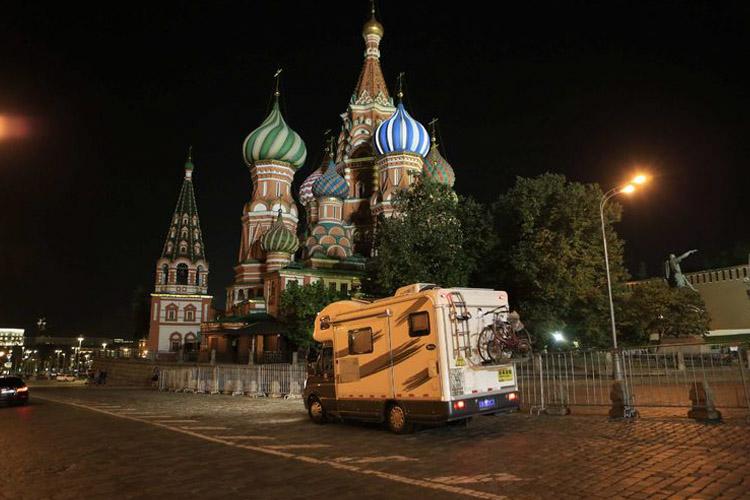 俄罗斯圣彼得堡 莫斯科 车友阳光开房车欧亚自驾(18)