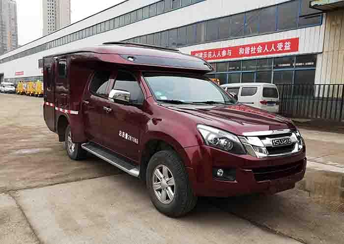 又一款升降顶房车!新车或将3月份北京首发