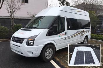 全系标配锂电池 尚旅福特新全顺房车将亮相房山房车展