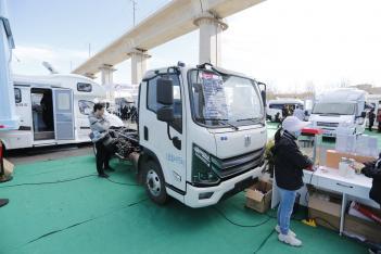 预售价格50万 法美瑞电动轻卡底盘房车将9月下线