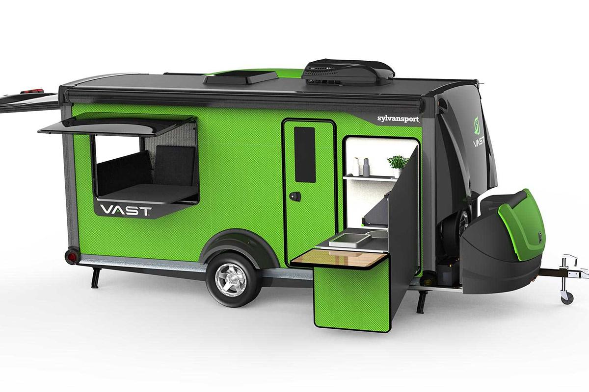 真是露营界的变形金刚! 像这么设计的露营车想不火都难