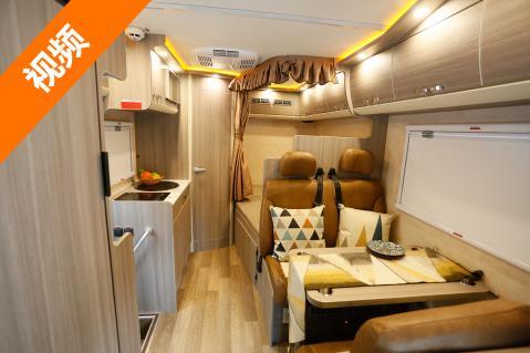 大气的外观 细腻的内室装饰 拓锐斯特欧典版房车