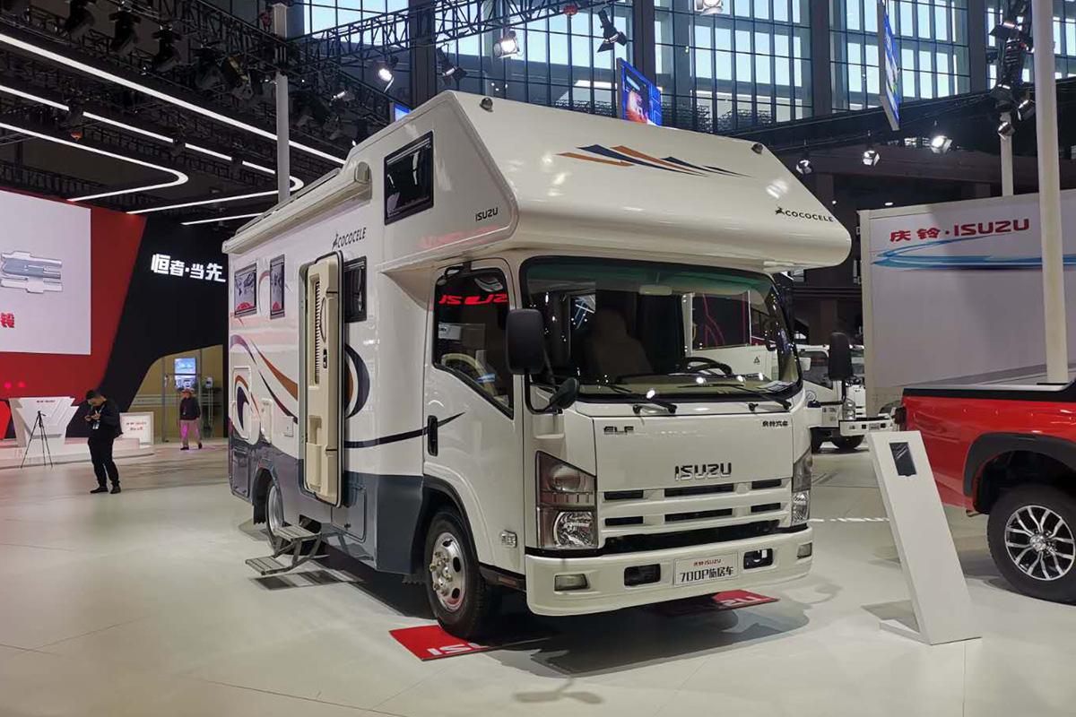 第18届上海国际汽车工业展览会 五十铃轻卡房车亮相