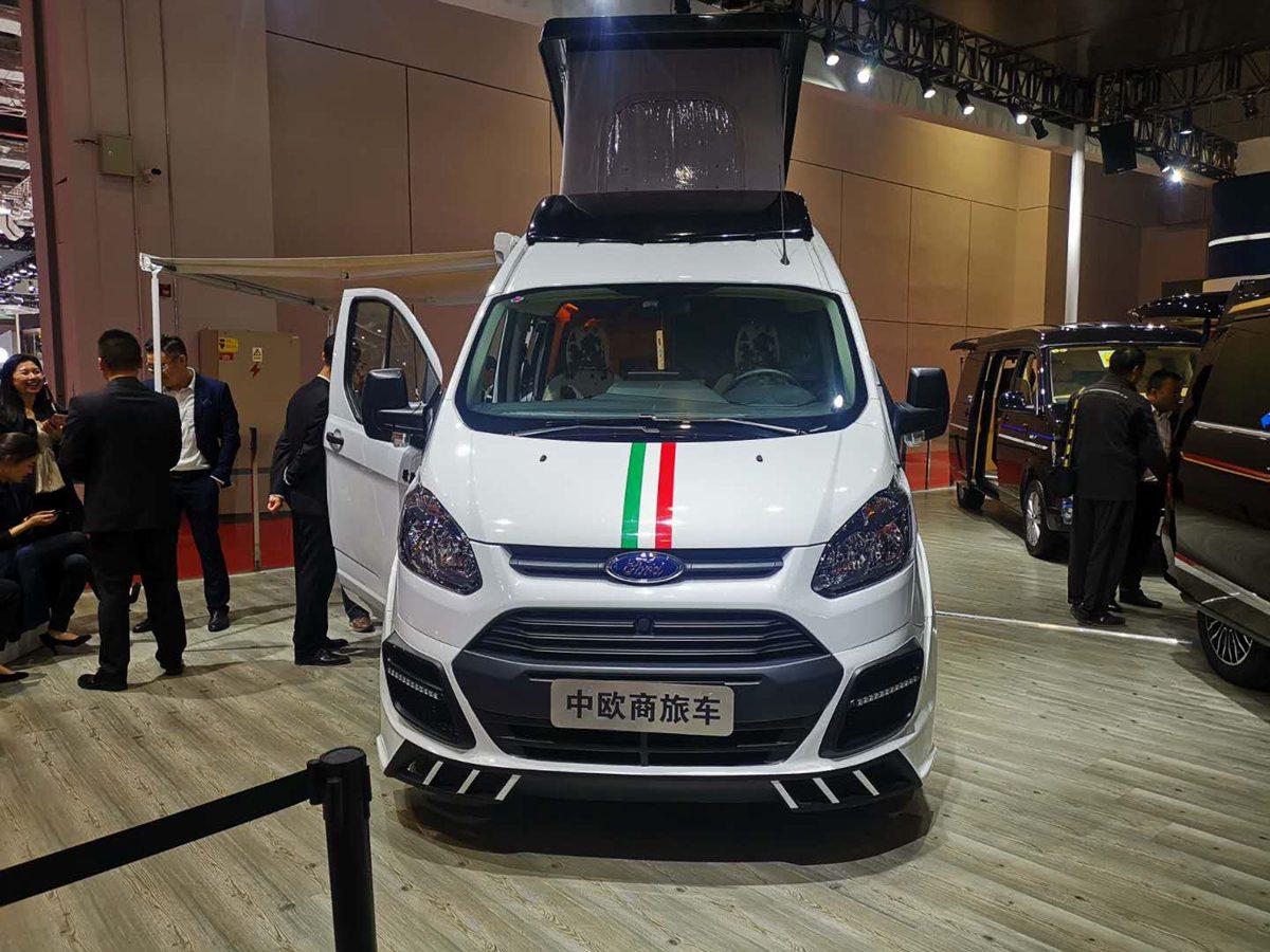 第18届上海国际汽车工业展览会 中欧房车3款车型亮相