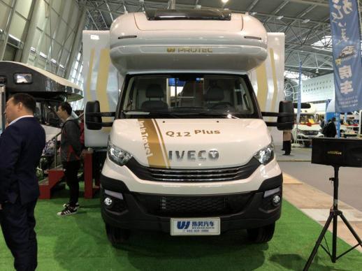 售价198万元 伟昊Q12plus房车亮相上海房车展