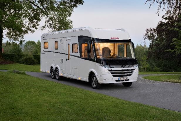 用于房车和厢式车建造的LAMILUX HG 4000 高光板