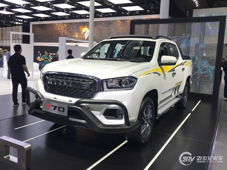 国六2.0T柴油动力 大通T70将于6月6日上市