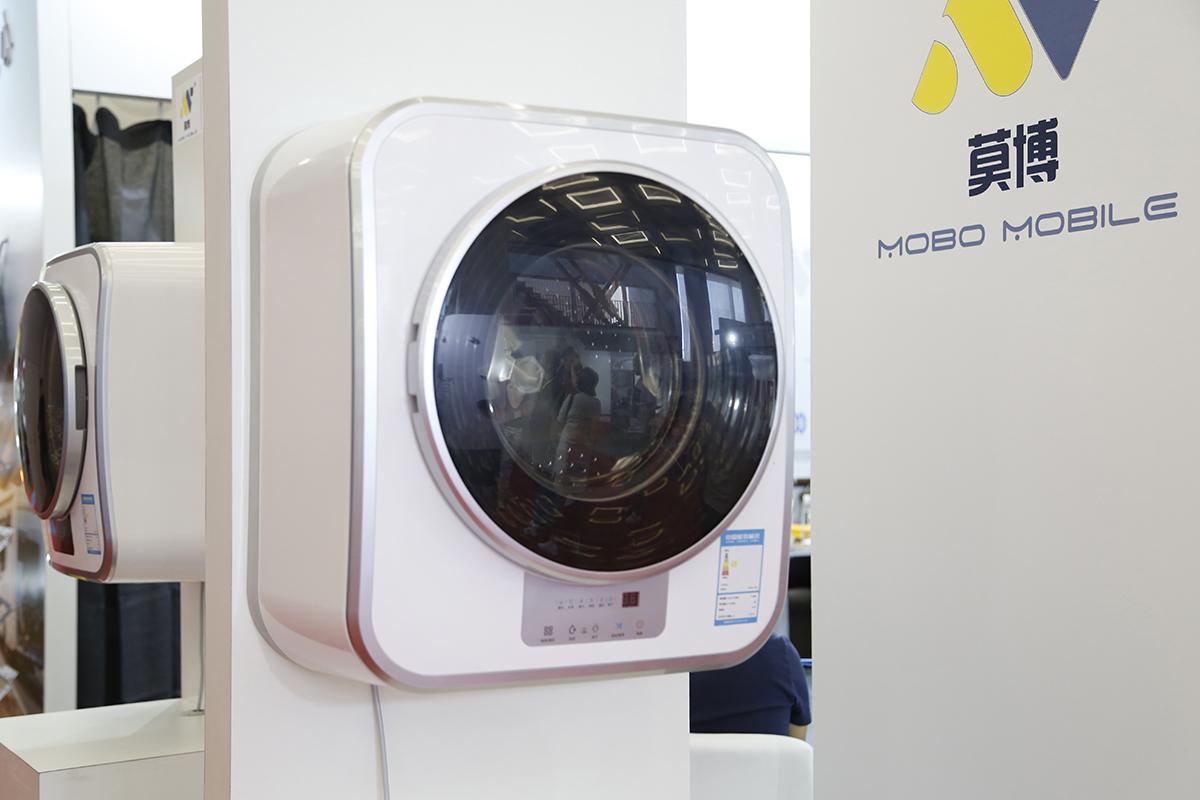 满足2-4人需求 莫博发布全新房车洗衣机