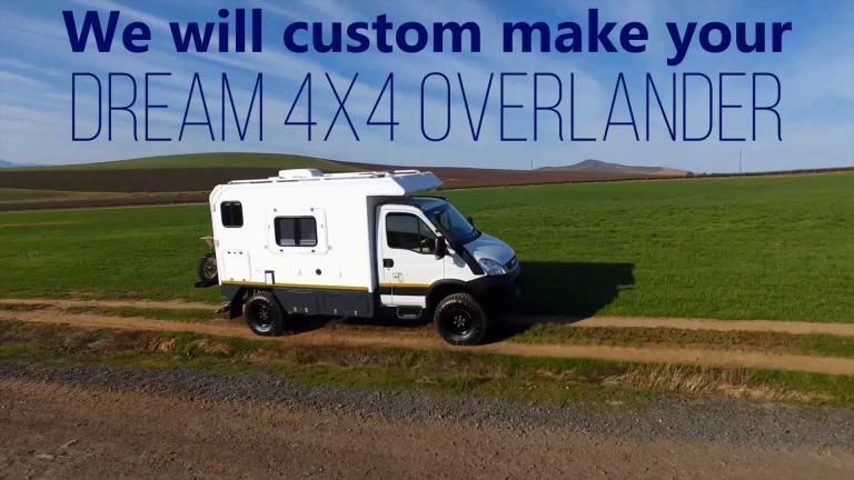 售价188万的进口南非狩猎版越野房车 涉水1.1米 配备12000磅绞盘