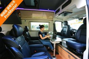 室内布局新颖 座椅舒适度极高 商旅版道奇公羊 ProMaster