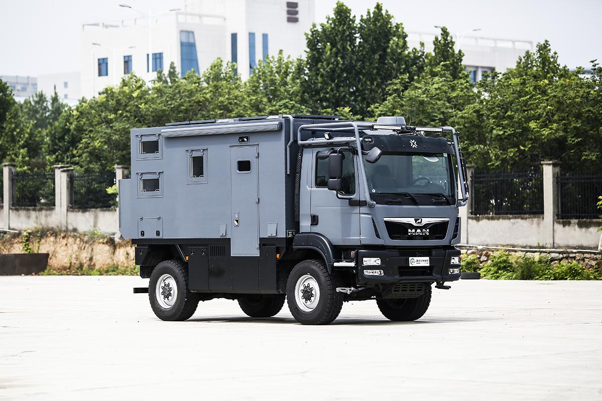 基于MAN 4×4底盘打造 诺马迪森穿越者即将亮相北京房车展