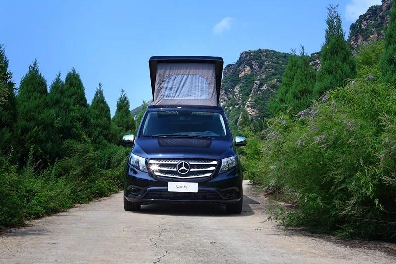 商旅两用!奔驰马可波罗升顶露营车即将亮相北京房车展