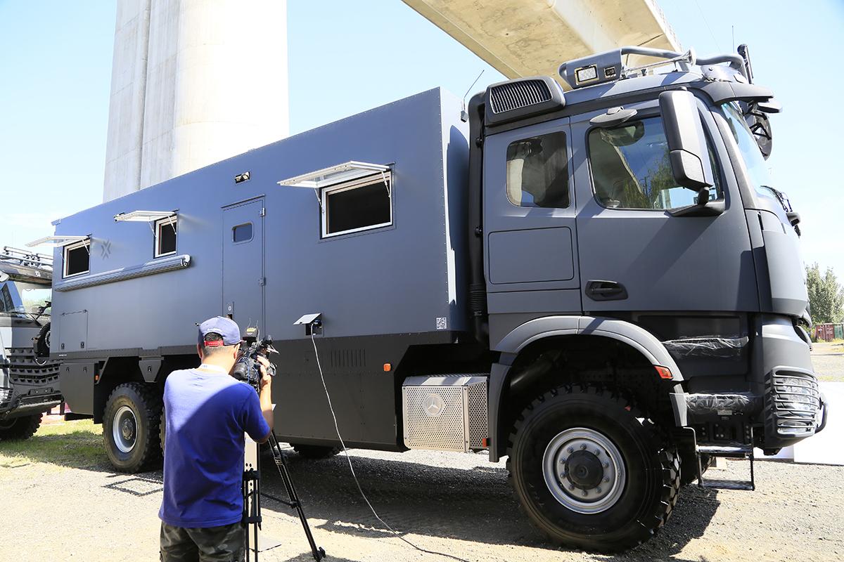 148万-780万元 诺马迪森全系越野房车亮相北京房车展