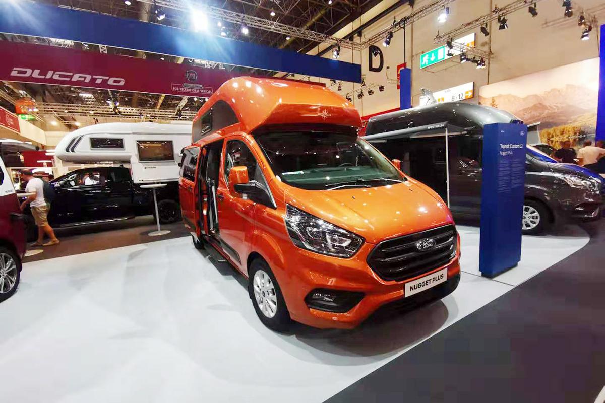 基于福特底盘打造 韦斯伐里亚Nugget欧洲房车展全球首发