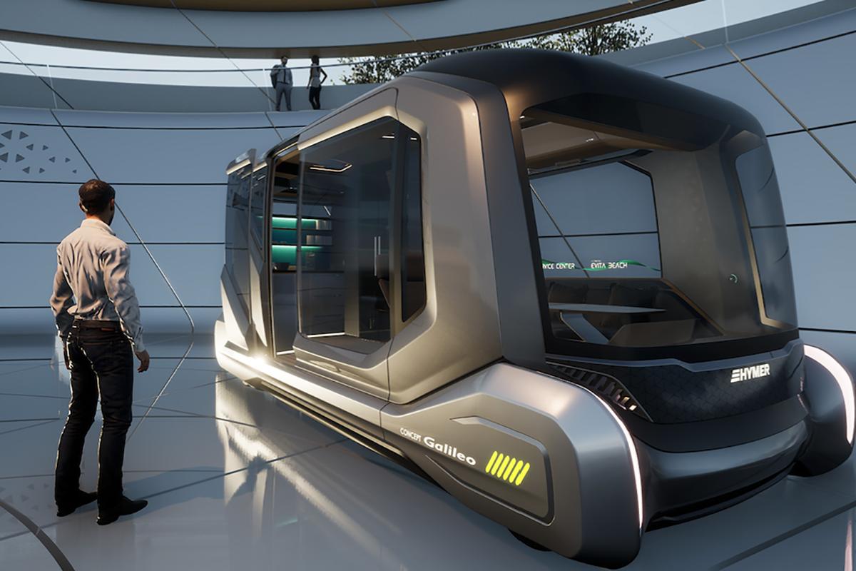 房车自动驾驶真的来了!海姆这款概念车太具有未来感了
