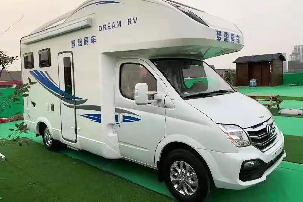 33.98万元起 旌航大通V80梦想Plus C型房车正式发布