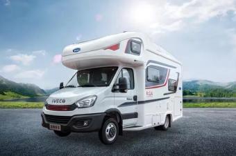 【亚特房车】售价40万以内的依维柯欧胜C型房车,匹配8AT变速箱
