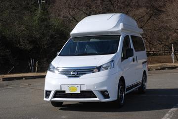 基于日产NV200打造 日本房车展上的JACK NV露营车 售价20多万