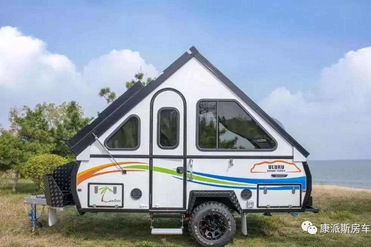 即能折叠又可越野 康派斯CH09越野拖挂房车售价仅为10.98万元起